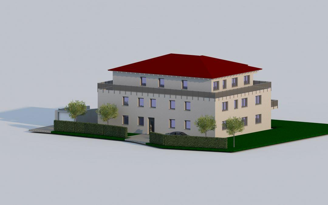 Oberbeuren, 8 Parteienhaus